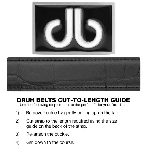 Druh Belts Cut-to-Length Guide