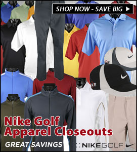 NIKE GOLF APPAREL CLOSEOUTS