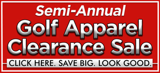 Golf Apparel Savings at Golf Locker