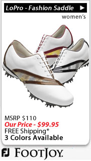FootJoy LoPro Collection - Fashion Saddle Women's Golf Shoes