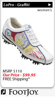 FootJoy LoPro Collection - Graffiti Women's Golf Shoes