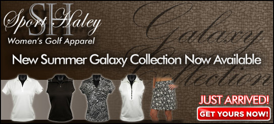 Sport Haley Galaxy Women's Golf Apparel