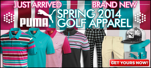 Womens Golf Apparel Puma Puma spring 2014 golf apparel