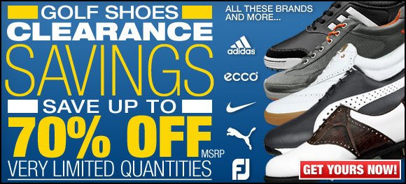 Golf Shoes Clearance Savings at Golf Locker