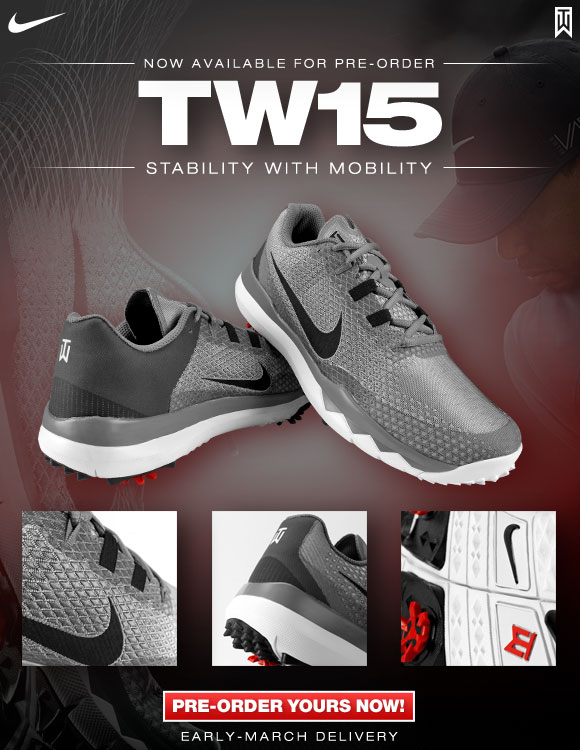 Nike Tw15 Golf Shoes Now Available For Pre Order