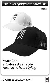 Nike Dri-FIT TW Tour Legacy Mesh Fitted Golf Hats