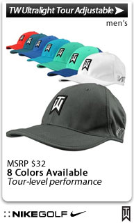 Nike Dri-FIT TW Ultralight Tour Adjustable Golf Hats