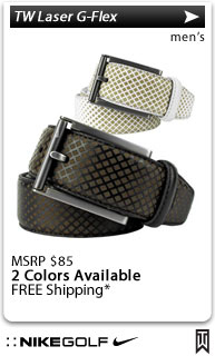 Nike TW Laser G-Flex Golf Belts