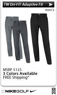 Nike Tiger Woods Dri-FIT Adaptive Fit Golf Pants