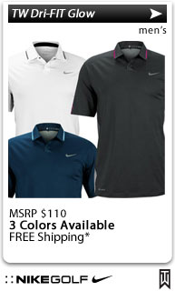 Nike Tiger Woods Dri-FIT Glow Golf Shirts