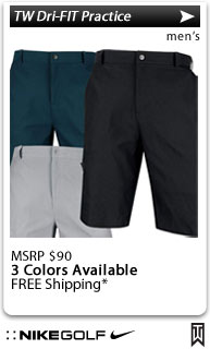 Nike Tiger Woods Dri-FIT Practice Golf Shorts