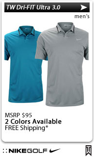 Nike Tiger Woods Dri-FIT Ultra 3.0 Golf Shirts