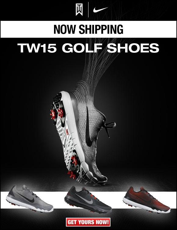 Nike TW15 Golf Shoes Now Shipping