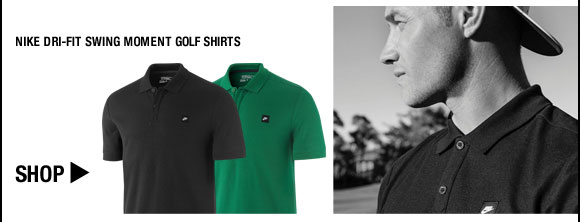 Nike Dri-FIT Swing Moment Golf Shirts - Nike Golf Club Collection