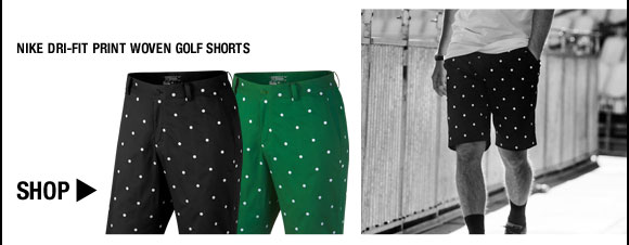 Nike Dri-FIT Print Woven Golf Shorts - Nike Golf Club Collection
