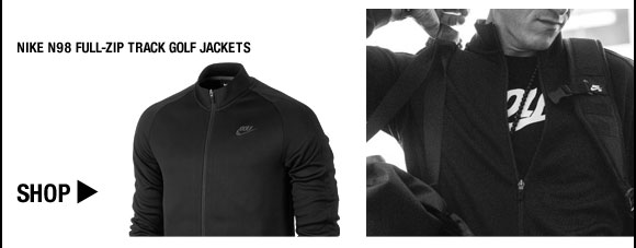 Nike N98 Full-Zip Track Golf Jackets - Nike Golf Club Collection