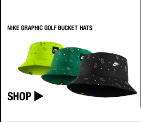 Nike Graphic Golf Bucket Hats - Nike Golf Club Collection
