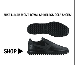 Nike Lunar Mont Royal Spikeless Golf Shoes - Nike Golf Club Collection