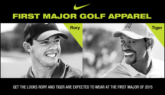 Nike First Major Golf Apparel and Golf Shoes