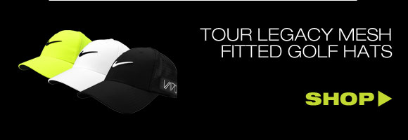 Nike Dri-FIT Tour Legacy Mesh Fitted Golf Hats