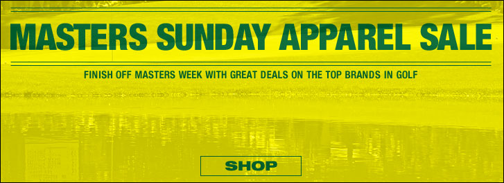 Masters Sunday Golf Apparel Sale at Golf Locker
