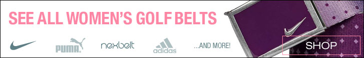 Shop All Women's Golf Belts