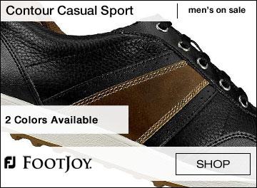FootJoy Men's 'FJ Sport' White Spikeless Golf Shoes