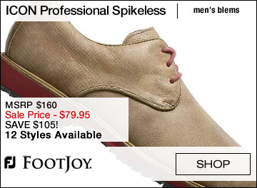 FJ ICON Professional Spikeless Golf Shoes - Cosmetic Blems