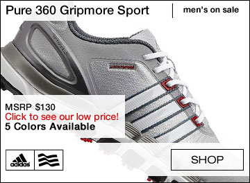 Adidas Pure 360 Gripmore Sport Spikeless Golf Shoes - ON SALE