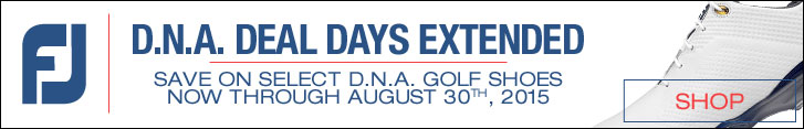 FootJoy D.N.A. Deal Days Extended Through August, 30th 2015