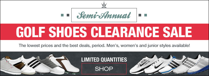 Semi-Annual Golf Shoes Clearance Sale at Golf Locker