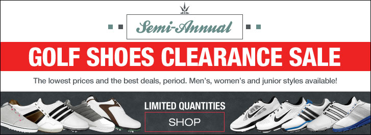 Semi-Annual Golf Shoes Clearance Sale