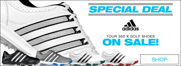 Adidas Tour 360 X Golf Shoes - ON SALE