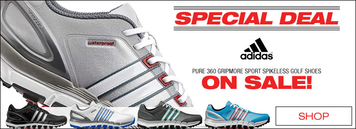 Pure 360 Gripmore Sport Spikeless Golf Shoes - ON SALE