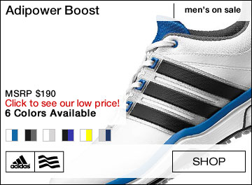 Adipower Boost Golf Shoes - ON SALE