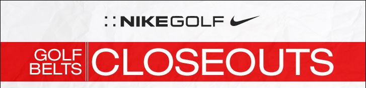 Nike Golf Belts at Golf Locker