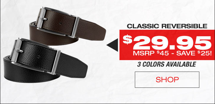 Nike Classic Reversible Golf Belts - CLOSEOUTS
