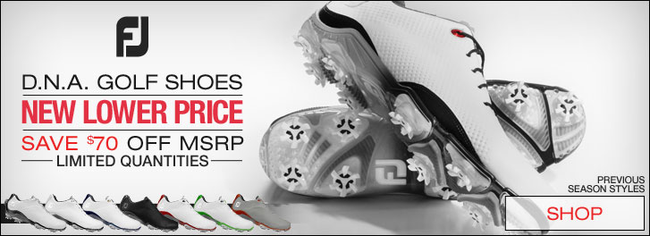 New Lower Price on FJ D.N.A. Golf Shoes