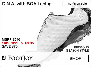 FJ D.N.A. Golf Shoes with BOA Lacing System - ON SALE