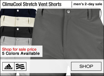 Adidas ClimaCool Stretch Ventilation Golf Shorts - TWO DAY SALE
