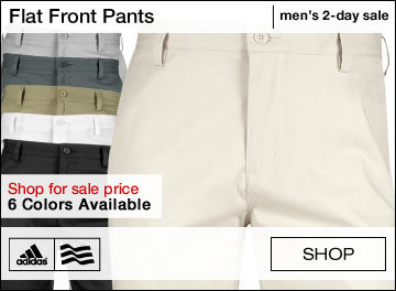 Adidas Flat Front Golf Pants - TWO DAY SALE