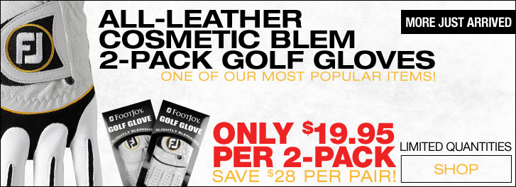 FJ Cosmetic Blem 2-Pack Golf Gloves