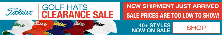 Titleist Golf Hats Clearance Sale