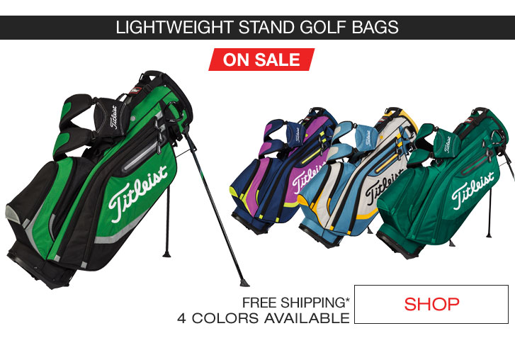 Golf Bags For Sale >> Titleist Golf Bags And Duffels On Sale