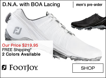 The New FJ D.N.A. Golf Shoes with BOA Lacing System - Pre-Order Now