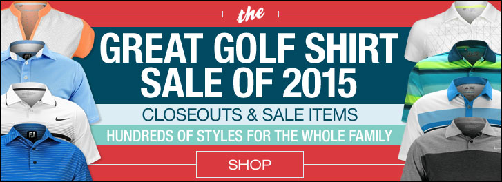 The Great Golf Shirt Sale of 2015 at Golf Locker