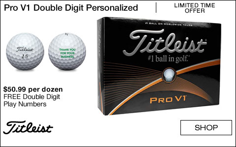 Titleist Pro V1 Double Digit Personalized Golf Balls