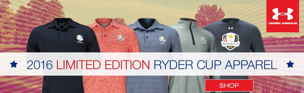 Under Armour Limited Edition 2016 Ryder Cup Golf Apparel