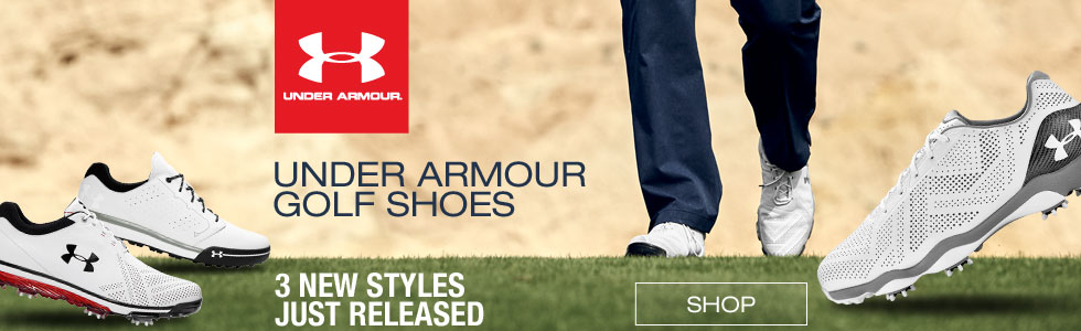 Under Armour Golf Shoes - New Styles Just Arrived