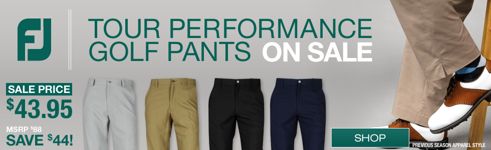 FJ Tour Performance Golf Pants - ON SALE